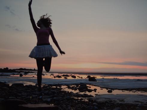 Janitan kuvamaa energiaa Raahen rannoilta.