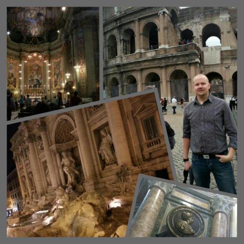 Rooman taideaarteet ovat kuvisopen taivas. Italian kulttuurissa riittäisi ammennettavaa kuvistunnille loputtomasti.
