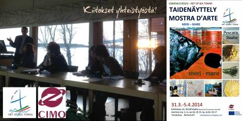 Comenius Regio -vierailun mahdollisti myös yhteistyö paikallisten yritysten kanssa.