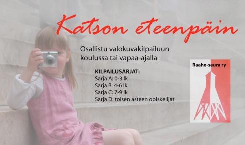 Kilpaulun järjesti Raahen opetustoimen TAIKAKUU - taito- ja taideaineiden kehittämisryhmä. Raahe-seura ry tuki kilpailua.