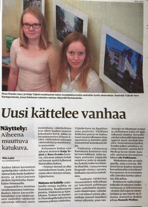 Raahen seutu valokuvanäyttely